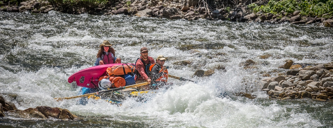 Never been Rafting in Idaho?