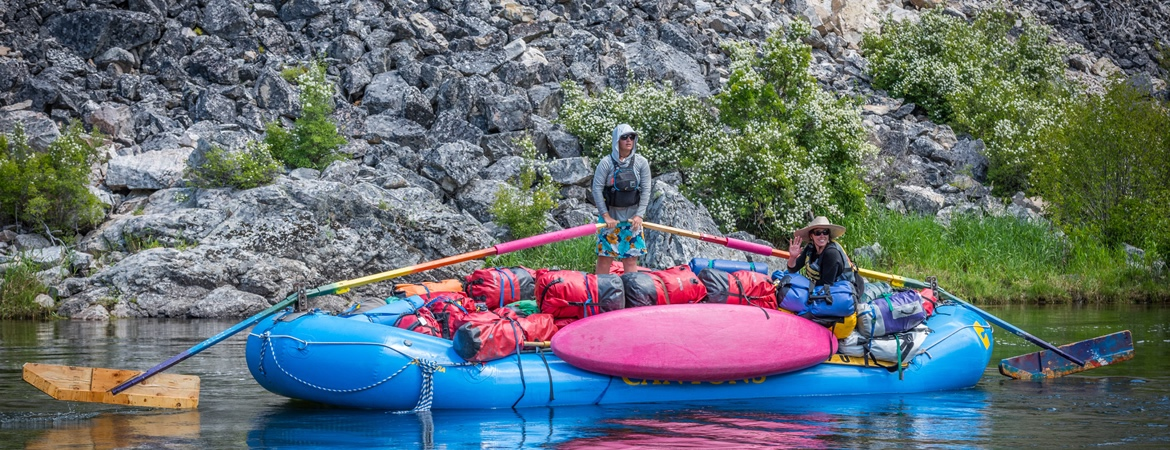 Rafting on the Middle Fork with Canyons