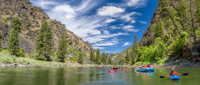 Never been Rafting in Idaho?