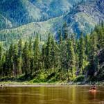Solo Kayaker Main Salmon