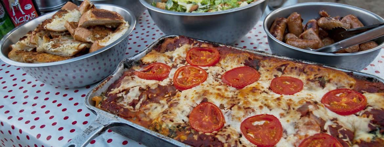 dutch oven lasagna cuisine