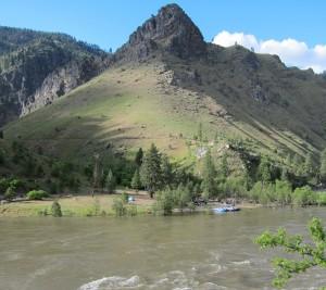 High Water Main Salmon Camp