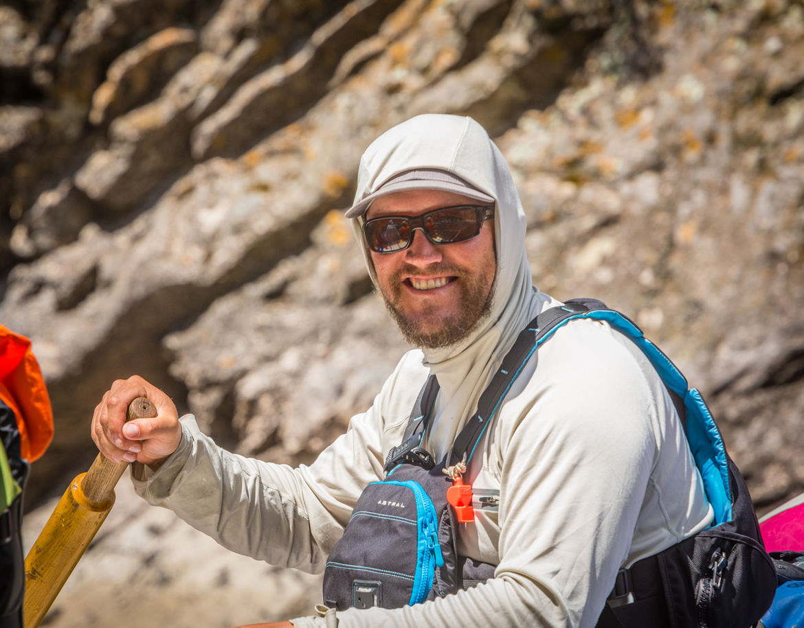 Tyler Knibbe Canyons River guide