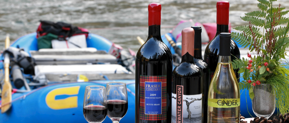 Local Idaho Wines on the salmon river