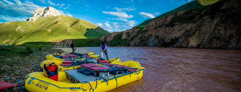 Rafting China