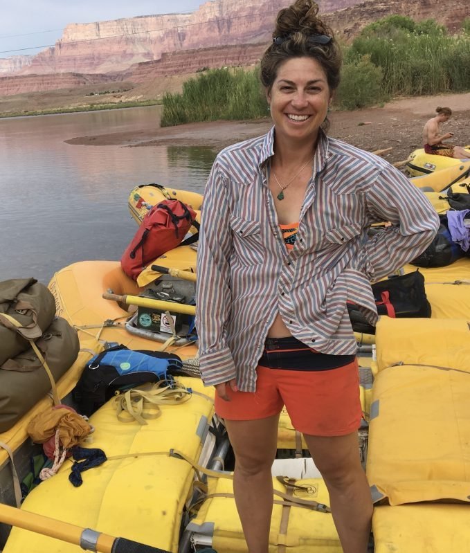 Jen Cook Canyons river guide