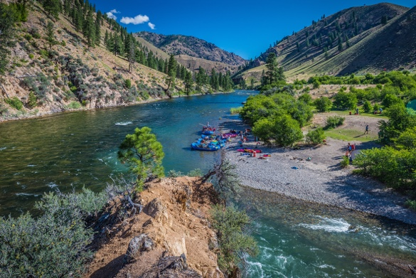Combo Middle Fork and Main Salmon River Trips