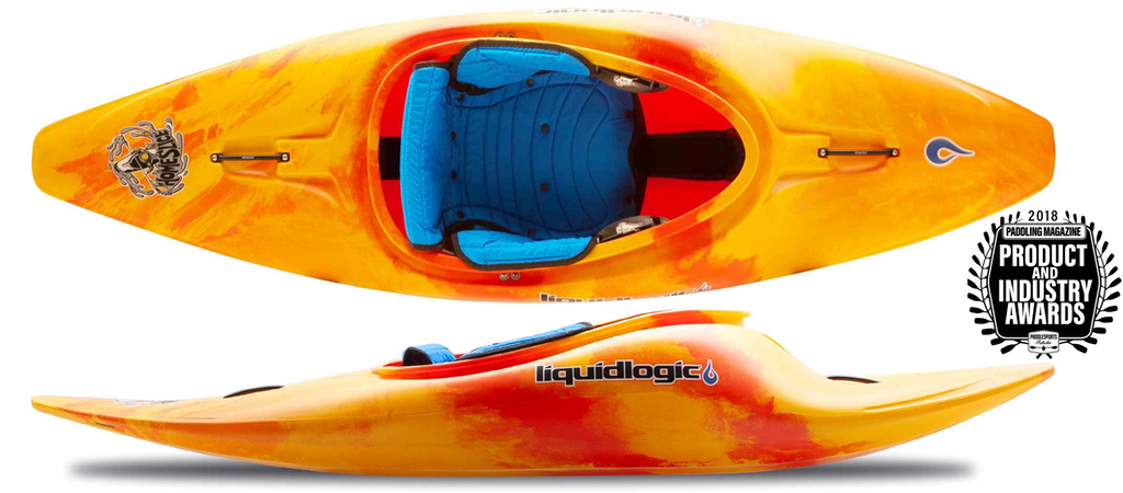 whitewater kayak homeslice by liquid logic kayaks