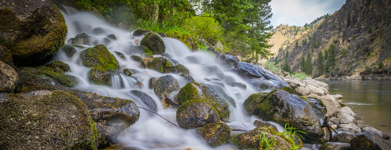 side creek salmon river meditation