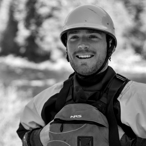 Team canyons guide zak sears in idaho on the salmon river and middle fork salmon river